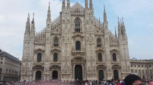 A Igreja do Duomo.