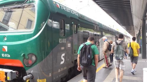 Trem chegando :D