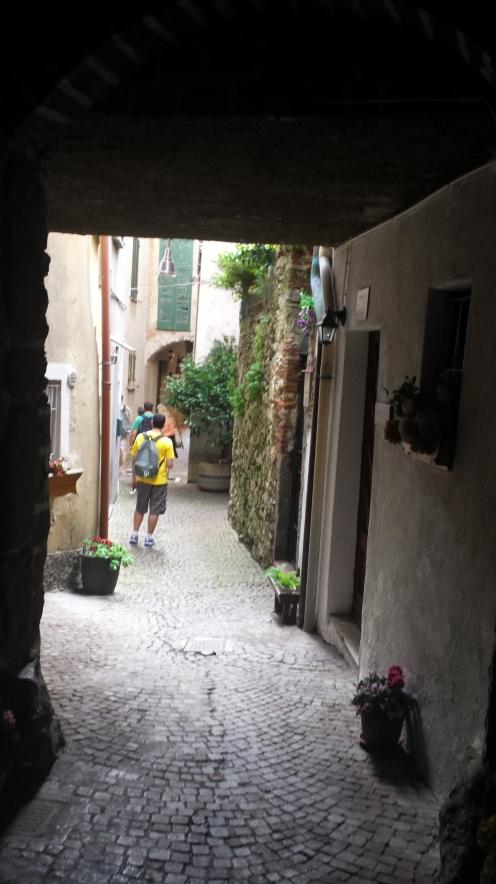 Uma viela.Totalmente Itália.