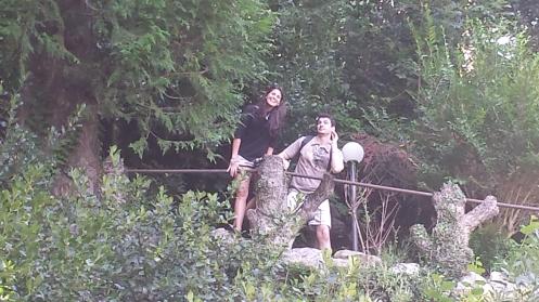 Anna e Vitor na maior piração