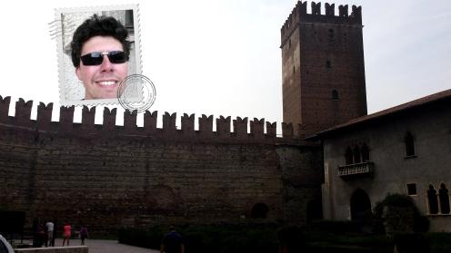 Brincando de sol com o Castelo