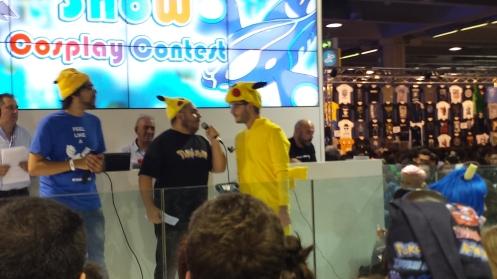 Pikachus. Pikachus everywhere.