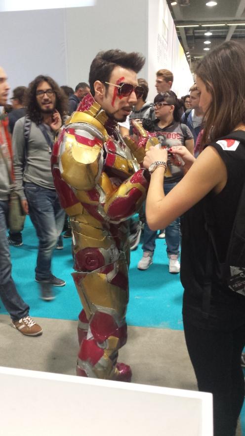 A armadura do homem de ferro não é perfeita.