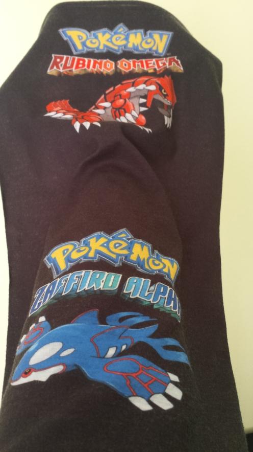 Meio bandana, meio pescoço, todo pokemon!